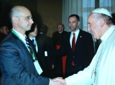 Professor Mark L. Movsesian and Pope Francis