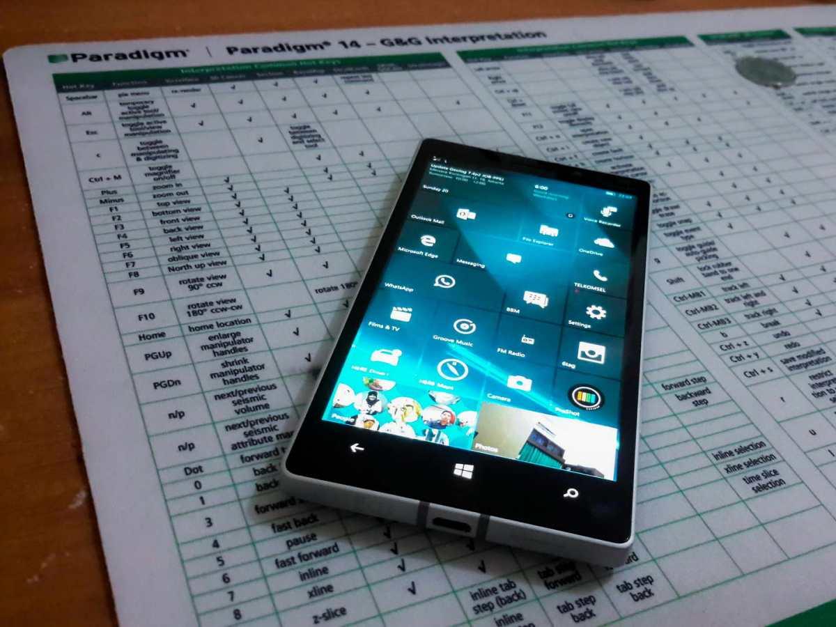 Upgrade Windows 10 Mobile Lumia 930
