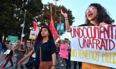 undocumented-unafraid-daca-dreamers-protest
