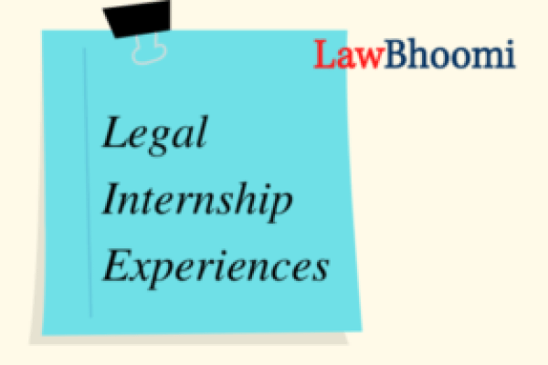 "Internship Experience with Adv. Abhay Prakash Sahay: ""Learned to apply law practically"""