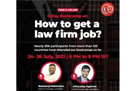FREE 3-Day Bootcamp | How to get a law firm job [July 24]: Registrations Open!
