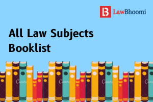 Subject-wise Books for Law Students
