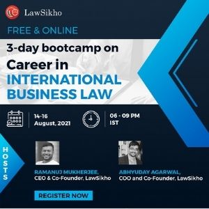 Career in International Business Law