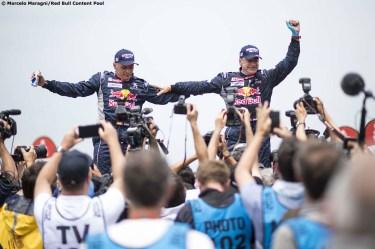 Sainz/Cruz ganadores del Dakar 2018