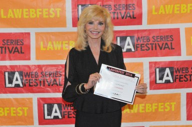 "TV star Loni Anderson of ""WKRP in Cincinnati"" fame"