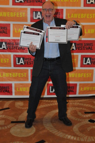 MichaelMcDonoghOfMonstersUSA.GREAT Action shot with awards