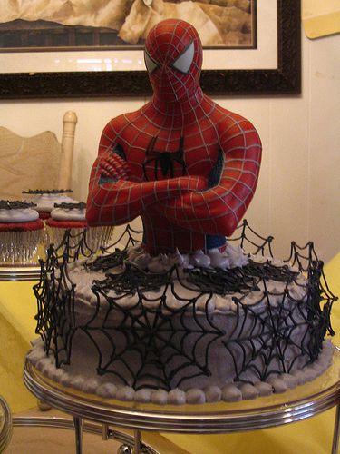 Spider Man Birthday Food