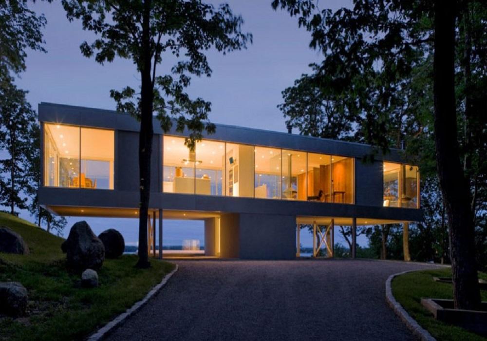 glass house modern architecture – Modern House - ^