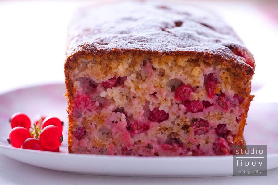 Cake aux fruits rouges, czyli ostatnie letnie igraszki