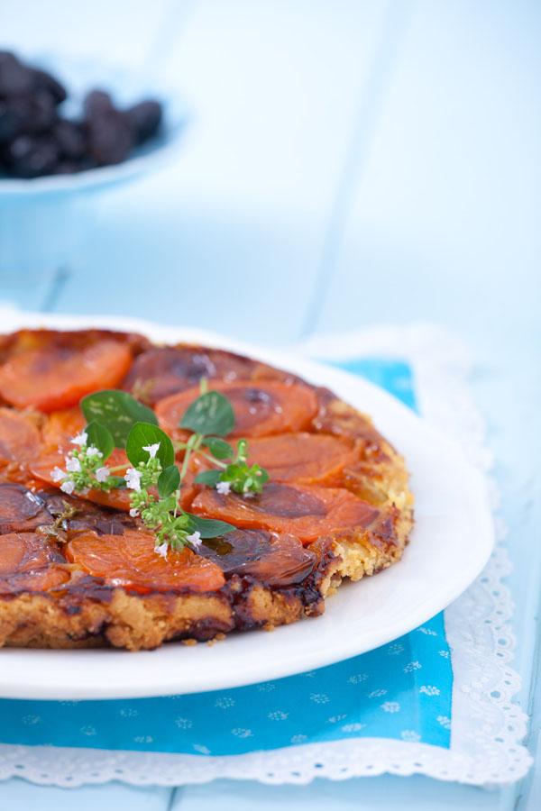 Tarte Tatin z pomidorami i tymiankiem