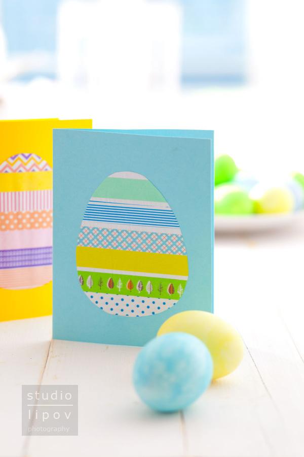 Świąteczne kartki z jajem:)