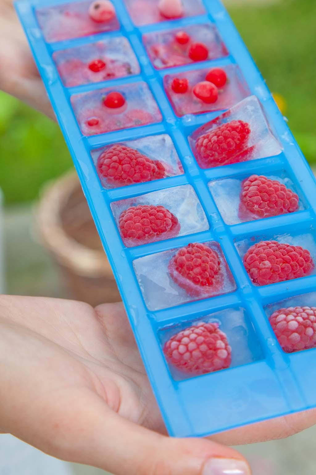 Pomysł na… letnie przyjęcie. Owocowe kostki lodu