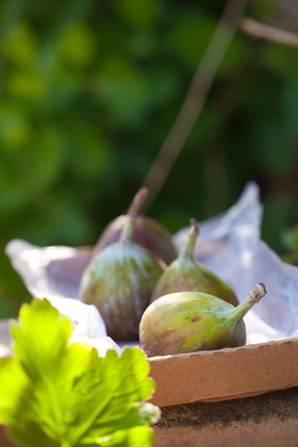 Jak w raju… Figi z jogurtem i karmelizowanymi orzechami