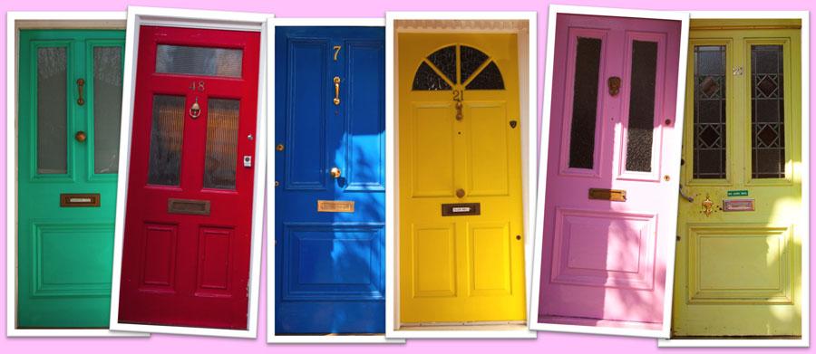Londyn. Wybierz swój kolor.