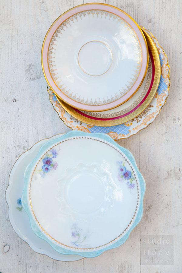 porcelanowe talerzyki