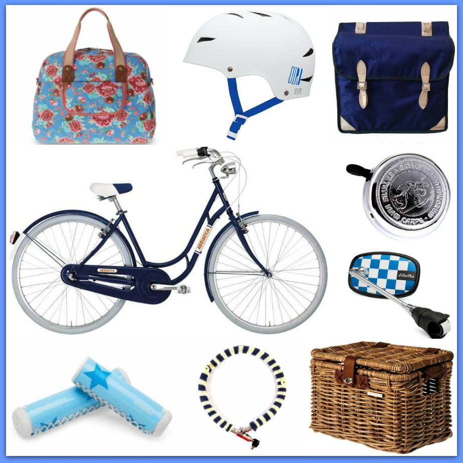 I love my bike! Rowerowe gadżety w trzech stylach.