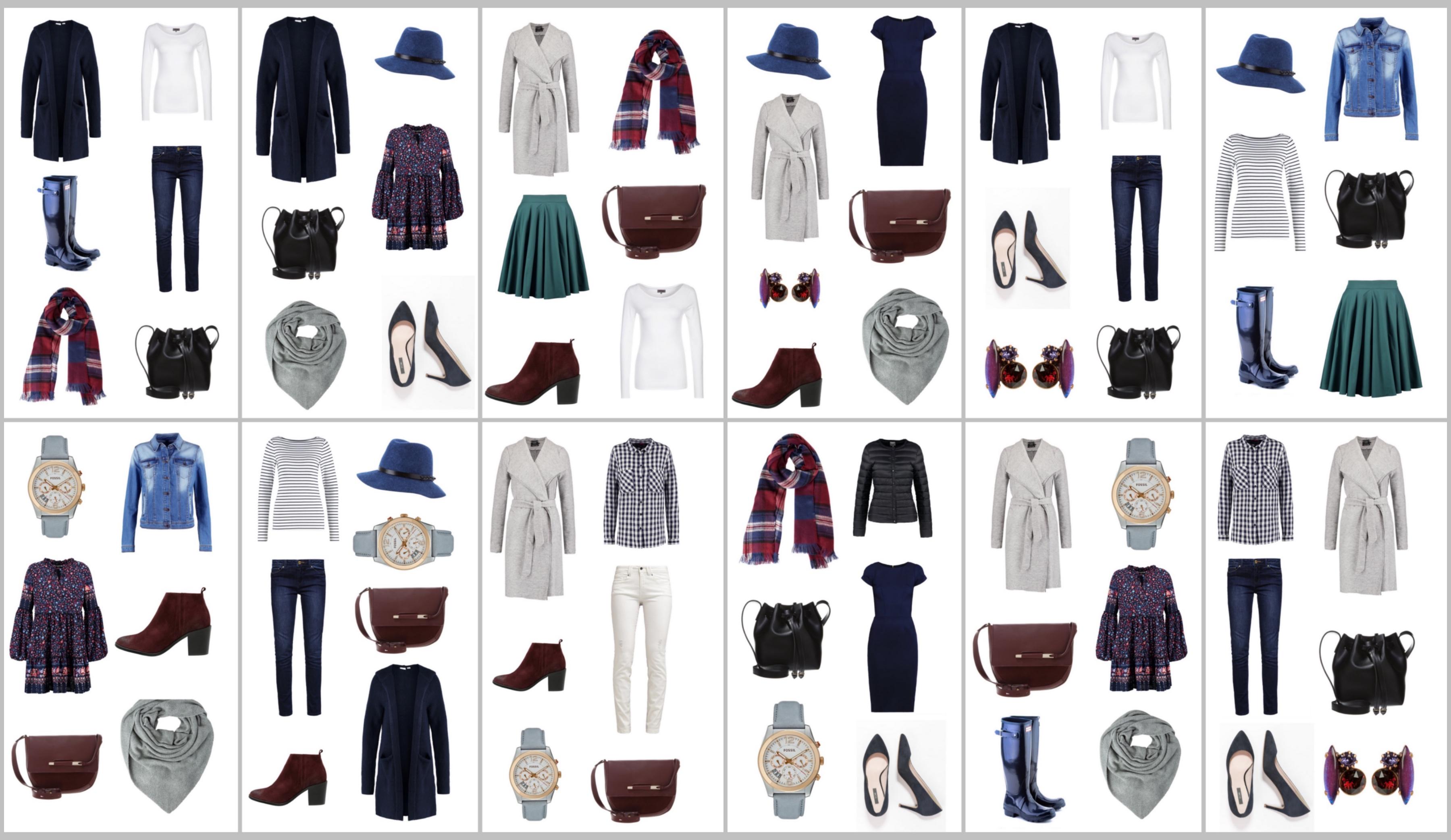 Capsule wardrobe – szafa w pigułce jesień 2016! 12 starannie dobranych ciuchów i 30 gotowych stylizacji specjalnie dla Ciebie!