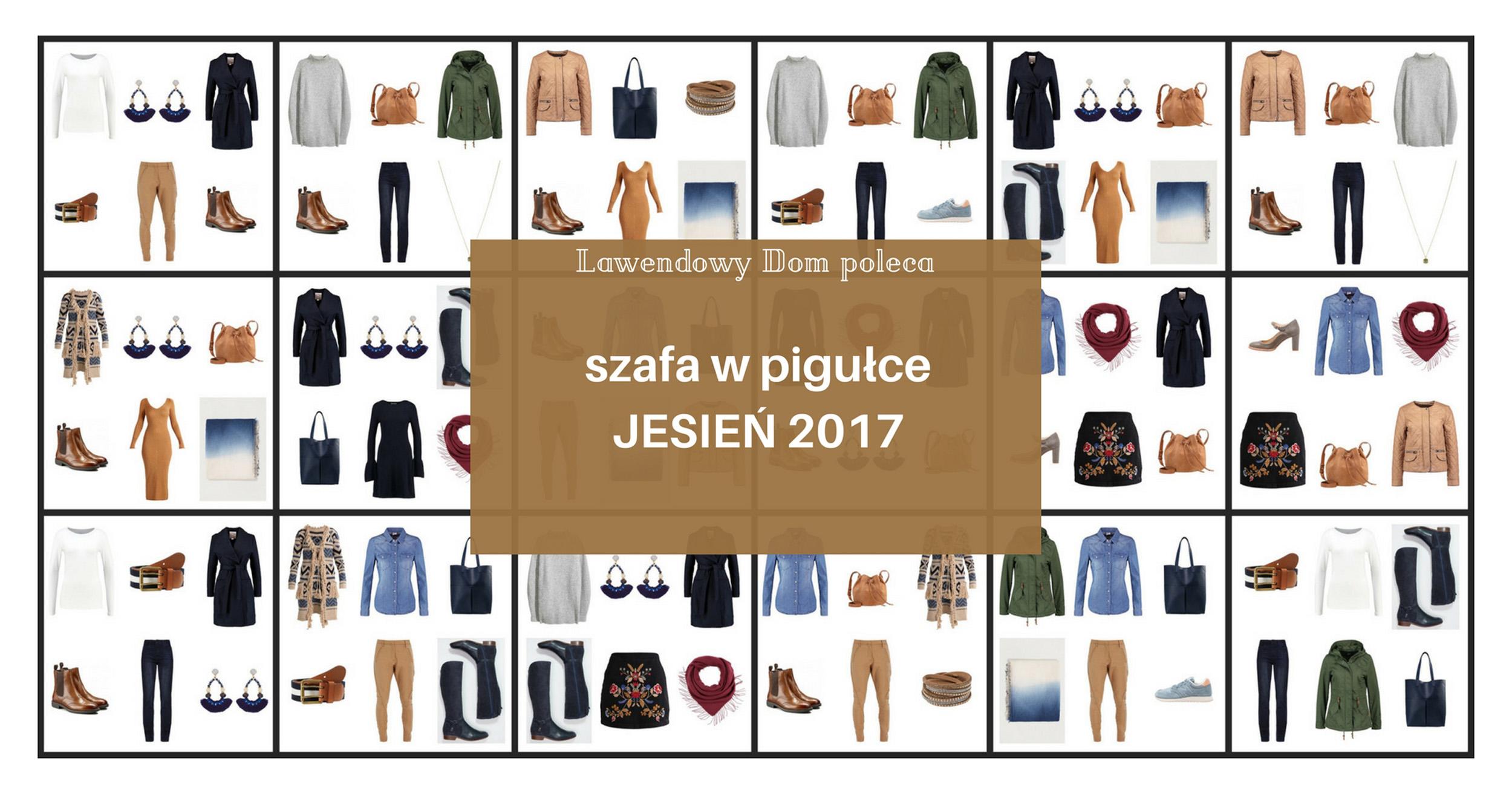 Capsule wardrobe – szafa w pigułce jesień 2017! Dwanaście starannie dobranych ciuchów, dodatki i gotowe zestawy :)