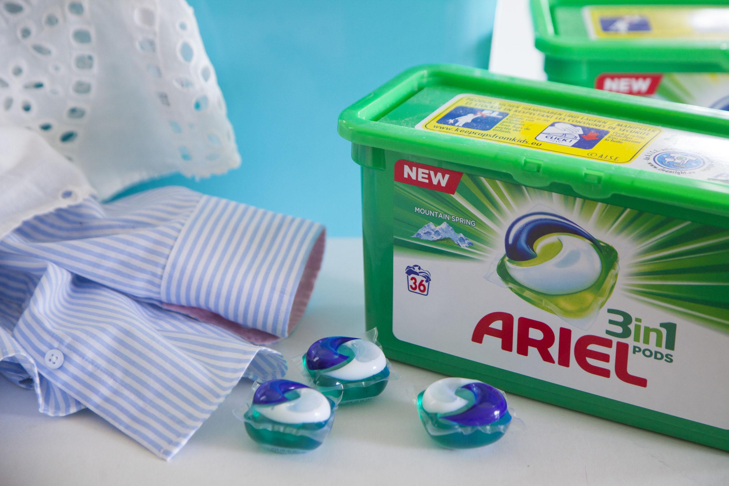 Ariel 3w1 POD – czyli zawsze jestem gotowa na czas ;)