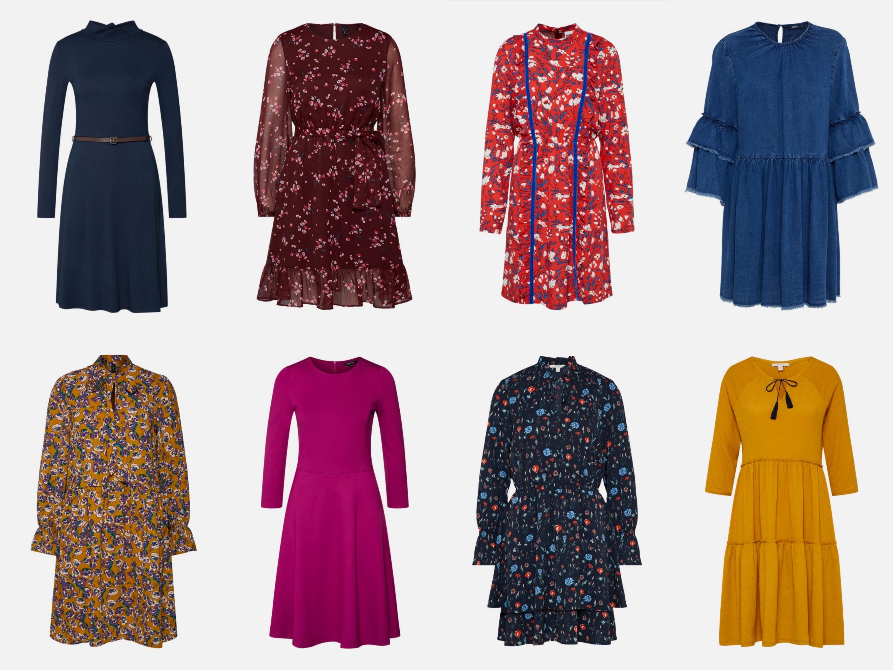 Kupujemy sukienkę na jesień. Gotowe stylizacje na przywitanie jesieni!