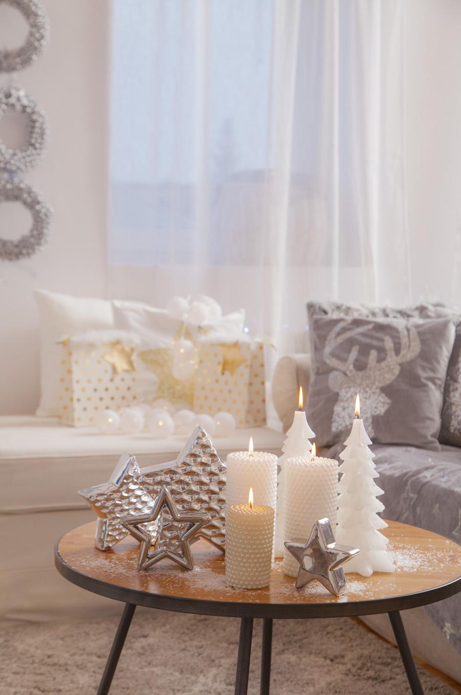 świąteczne Dekoracje W Stylu Glamour Lawendowy Dom