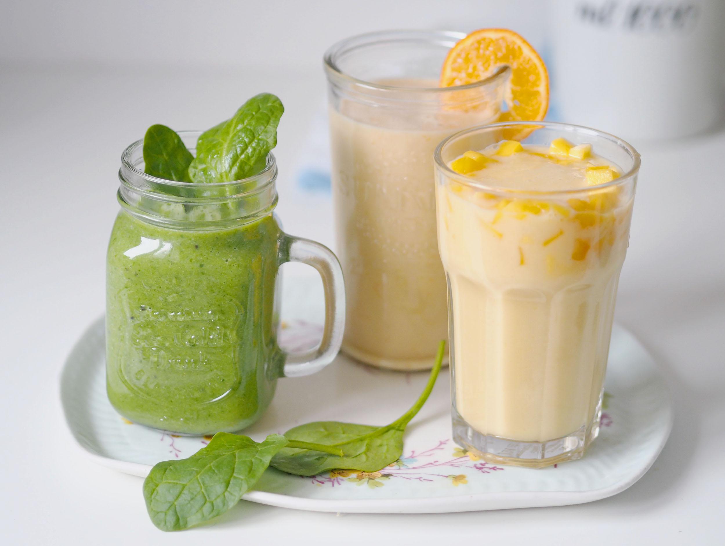 Trzy błyskawiczne przepisy na wegańskie koktajle + wartości kaloryczne dla osób na redukcji.