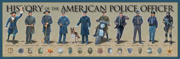 The History of the American Police Officer - from the beginning to nowadays