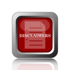 Law firm notices and disclaimers in advertisements