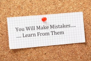 Law firm employees need to learn from their own mistakes
