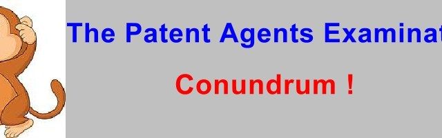 Whither Patent Agent Exam ?