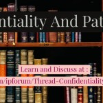 Confidentiality and Patentability