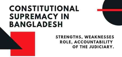Constitutional-Supremacy-In-Bangladesh