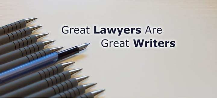 Great Lawyers are great writers write for law help bd