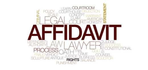 Affidavit law