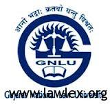 GNLU logo