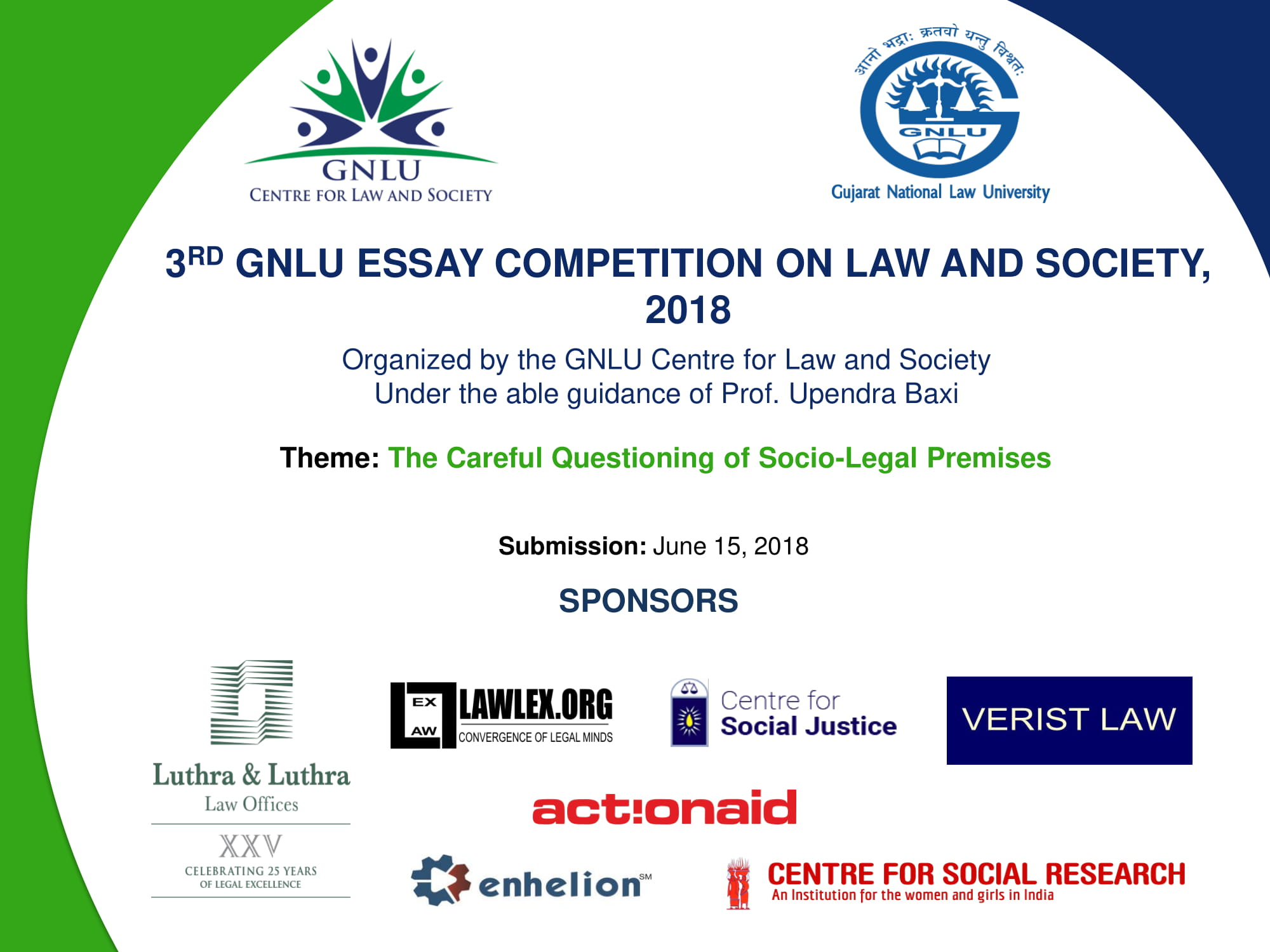 gnlu essay competition 2013