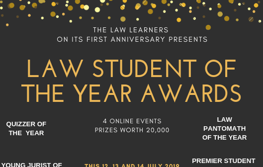 TLL's 1st Online Law Student of the Year Awards – Prizes worth Rs. 20,000