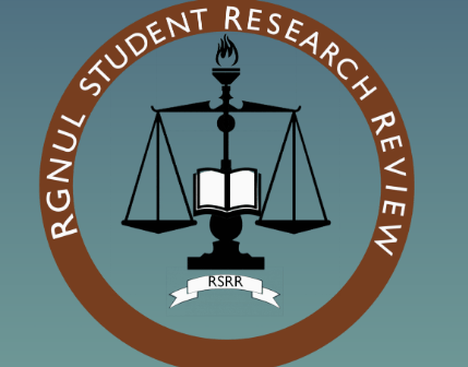 Call for Blogs | RGNUL Student Research Review | Rolling Submissions