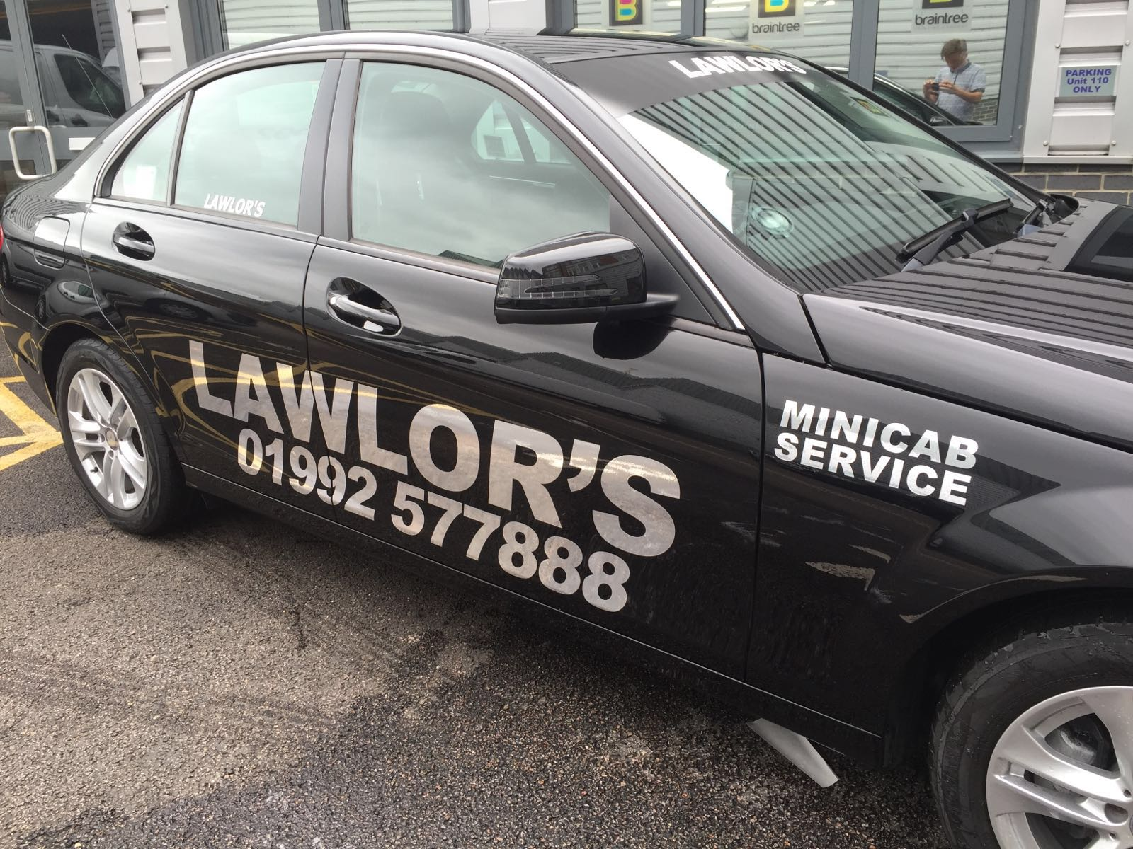 Lawlor Taxis Mercedes