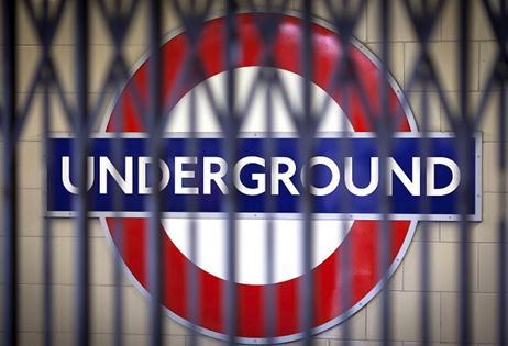 Locked underground gates