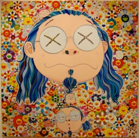takashi-murakami-paints-self-portraits--exhibition-recap---4