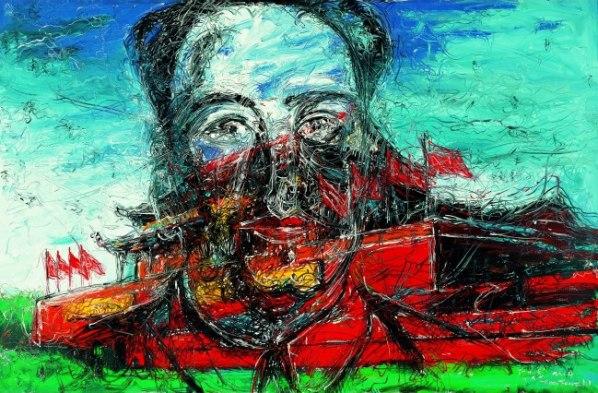 Zeng-Fanzhi-Tian_An-Men-2004.-Collection-privée-©-Zeng-Fanzhi-studio