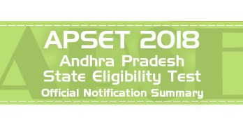APSET 2018 Law Andhra Pradesh State Eligibility Test Official Notification Mock Tests Sample Papers Previous APSET Law 2018 question papers