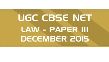 UGC NET Law Mock Test, Online Mock Test, UGC NET Law previous year question papers, UGC NET Law syllabus study material practice material