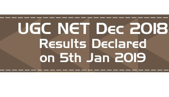 UGC NET Law December 2018 Results Declared Question Paper Answer Key Mock Test