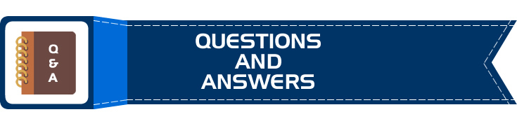 Frequently Asked Questions, Q&A, FAQs