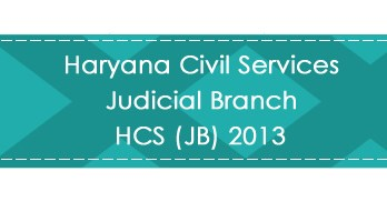 Haryana Civil Services Judicial Branch HCS JB 2013 LawMint.com Judiciary Exam Mock Tests Civil Judge Previous Papers Legal Test Series MCQs Study Material Model Papers