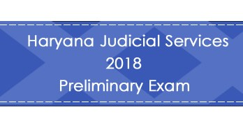 Haryana Judicial Services 2018 Preliminary Exam LawMint.com Judiciary Exam Mock Tests Civil Judge Previous Papers Legal Test Series MCQs Study Material Model Papers