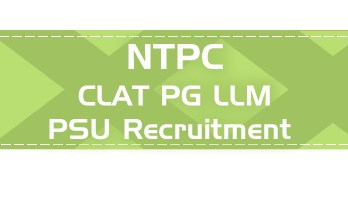 NTPC PSU Recruitment CLAT PG syllabus GD PI GT Eligibility Age Limit Details Mock Test