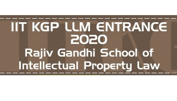 IIT KGP LLM 2020 Entrance Eligibility Admission Previous Question Papers Sample Papers Mock Test Series